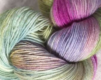 Pastels Hand Dyed 4ply Sock Wool/Nylon Yarn