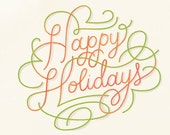 Custom Order: Holiday Note Cards for LN
