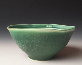 Squared Bowl - dark green