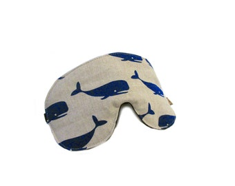 eyemask whale canvas adjustable