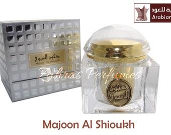Majoon al Shioukh by Arabian Oud 100g Sealed Sweet Incense Bakhoor Bukhoor Oudh