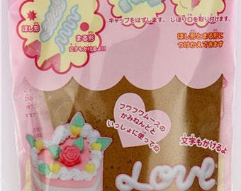 116014 Fuwa Fuwa mousse clay whipped cream Japan decoden brown