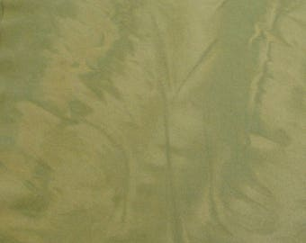 Misty Meadow hand dyed Marbleized Wool//medium-light value soft green felted wool ready for rug hooking, sewing, quilt making, appliqué