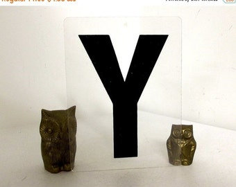 Vintage Sign Letter Y for industrial home decor