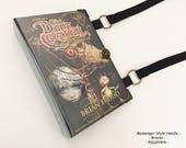 Custom Order for Aletha - Dark Crystal Book Purse - Custom Book Clutch - Custom Book Cover Handbag - Graduation Bookish Gift