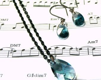 Swarovski Crystal Jewelry Set Crystal Jewelry Bohemian Jewelry Gifts for Women