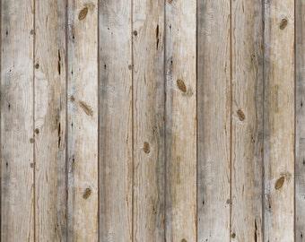 how to make fabric look like wood
