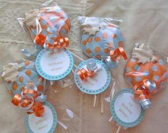 Pumpkin Lollipops punkin' baby's birthday