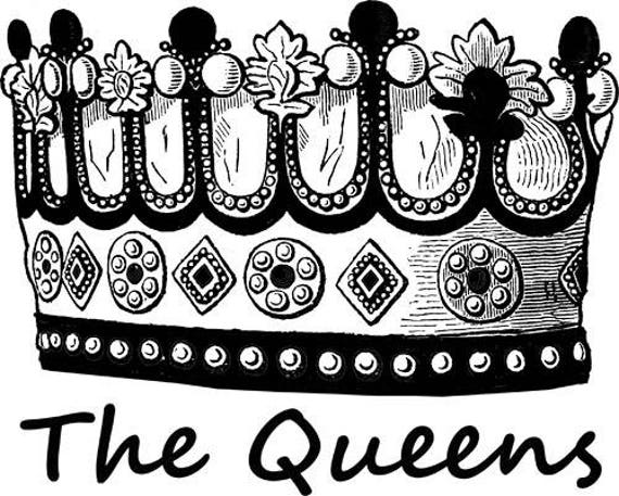 queen kings crown his and hers digital image download graphics clipart png clip art digi stamp digital stamp crowns printable art text words
