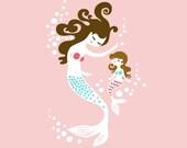Digital Art of Mermaids for Nicolle