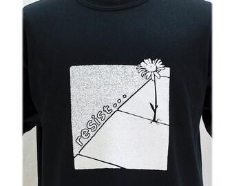 resist... T Shirt It's Back!- Sizes Small - XL