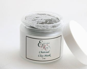 Activated Charcoal Facial Mask, Detox Mask, Facial Mask for Acne, Activated Charcoal Mask, Acne Mask