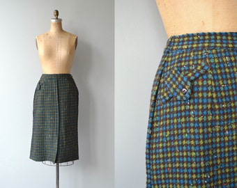 Bexford pencil skirt | vintage 1950s skirt | wool 50s skirt