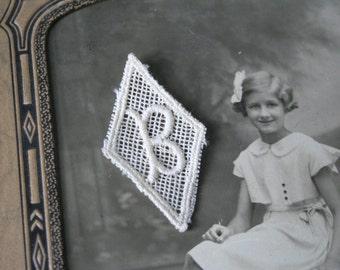 Vintage Letter B MONOGRAMS - 6 Pieces