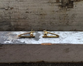 Little Death Spike Earrings