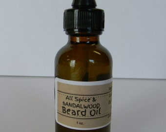 Handcrafted Beard Oil - Vegan - Palm Free