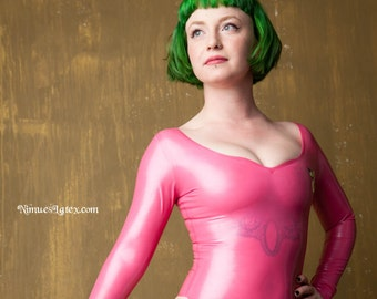 Samus Aran LATEX leotard, Justin Bailey style, made t o measure