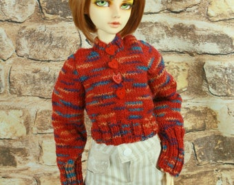 Knitted pullover for Bjd SD Girls - 21015