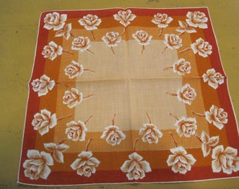 Vintage Linen Hankie