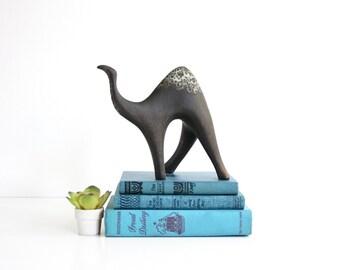 Mid Century Modern Cmielow Camel Figurine / Cmielow Poland Ceramic Camel Sculpture / Mid Century Cmielow Figurine