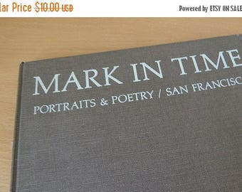 SPRING SALE MARK In Time..Portraits & Poetry/San Francisco..1971