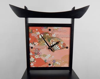 Japanese-style Wall Clock, Unique Wall Clock