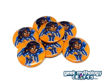 "Pharah Hero Pins - 1.5"" Pin Button or Magnet"