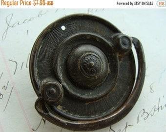 ON SALE Antique Vintage Salvaged Metal Pull