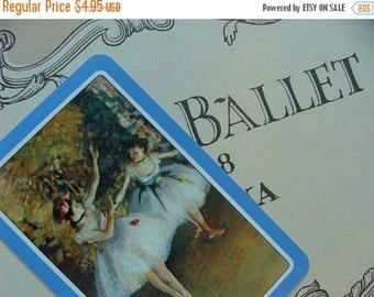 ON SALE Vintage Very French Ballet Vintage Cards