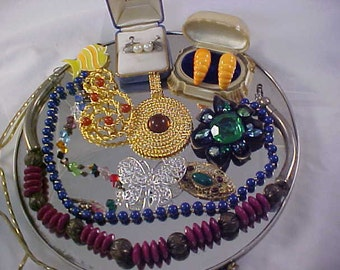 Wearable ~ Signed ~ No Repairs To Do ~ 75 Choice Pieces  ~ Huge JEWELRY LOT ~ MASSIVE Reduction