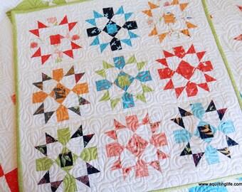 Starry Night Mini Quilt PDF Pattern
