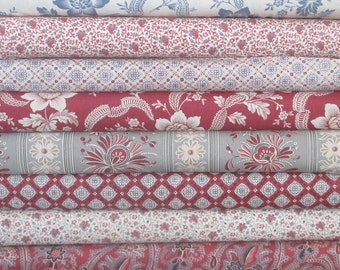 Pondicherry Half Yard Fabric Bundle - French General - Moda