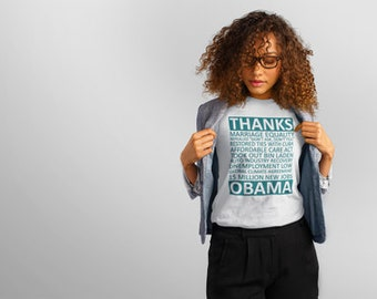 Thanks Obama Gratitute Tee