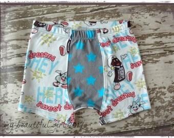 Childrens Boxer Briefs/Underwear, Sweet Dreams, cotton, comfy, custom