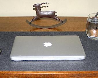 Oversized Large Desktop Pad Desk Mat Cover Computer Office Desk Accessories 5mm Thick Wool Felt Blotter Lap Top Cubicle Decor deskie Table