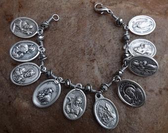 Ten Saints Bracelet~FREE SHIPPING!
