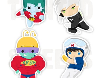 Childhood Heroes Stickers Set 2