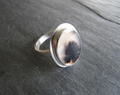 RESERVED  Montana Agate Ring