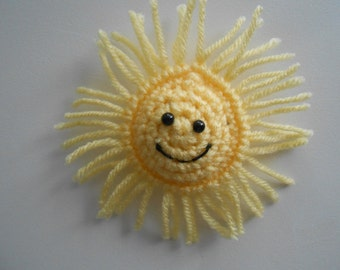 Crochet Sunshine in my Pocket. Amigurumi