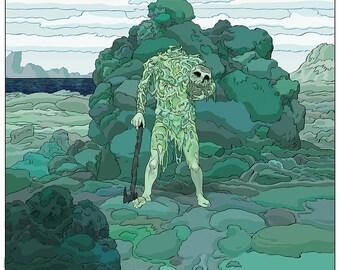 The Green Man Print