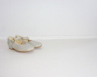 Vintage Grey Girl Shoes
