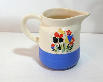 Universal Potteries Small Pitcher with Flowers