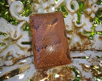 Vintage European Snakeskin Cigarette Case