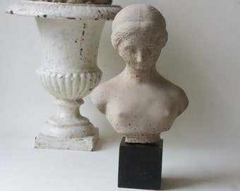 greco roman bust
