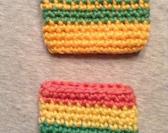 Two Hand Crochet Pocket Pouches