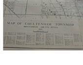 Original Map Of Cheltenham Township, Montgomery Co., Pennsylvania - 1937