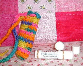 Fruit Loops type Lip Balm and Cuticle Softener