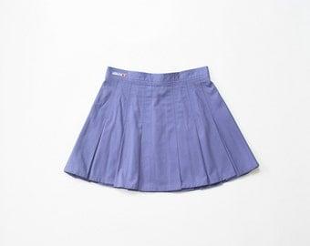 Ellesse 90s Pleated Mini Skirt 1990s Pastel Goth Sporty Purple Skirt Tennis Skirt Athletic Soft Grunge Skirt Health Goth Sporty Kawaii Small