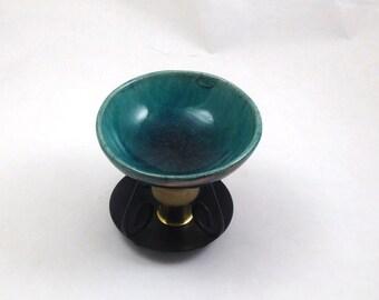 Aromatherapy RAKU Essential Oil Diffuser Handmade Ceramic Pottery