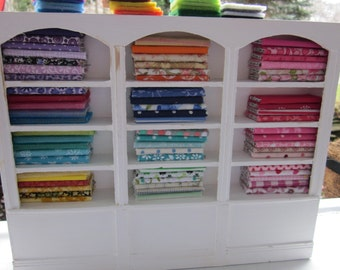 Three-Section Fabric Shelf